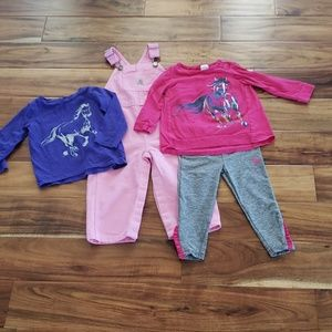 Carhartt Baby Girl Lot 18M